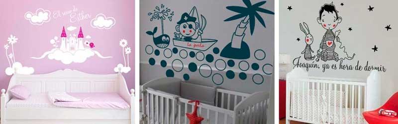 por qu decorar con vinilos infantiles