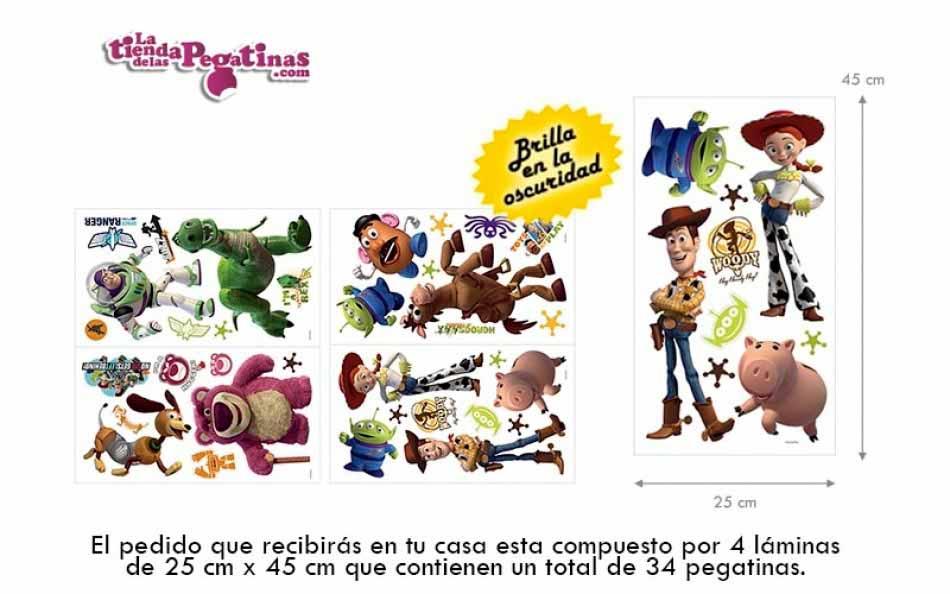 vinilo personajes toy story 3