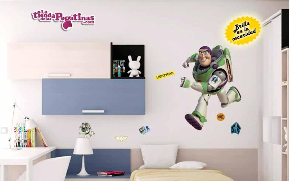 vinilo luminoso Buzz Lightyear