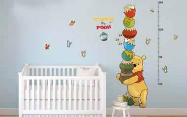 Vinilo Medidor Winnie the Pooh