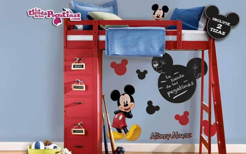 Vinilo infantil - Mickey con pizarra
