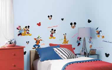 Vinilo infantil - Mickey Mouse y sus amigos