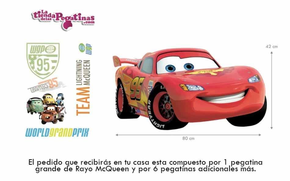Vinilo infantil - Cars Rayo McQueen