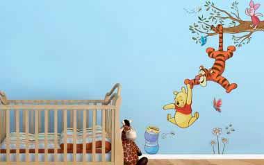 Vinilo infantil - Winnie the Pooh