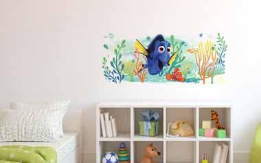 Vinilo infantil - Buscando a Dory y a Nemo