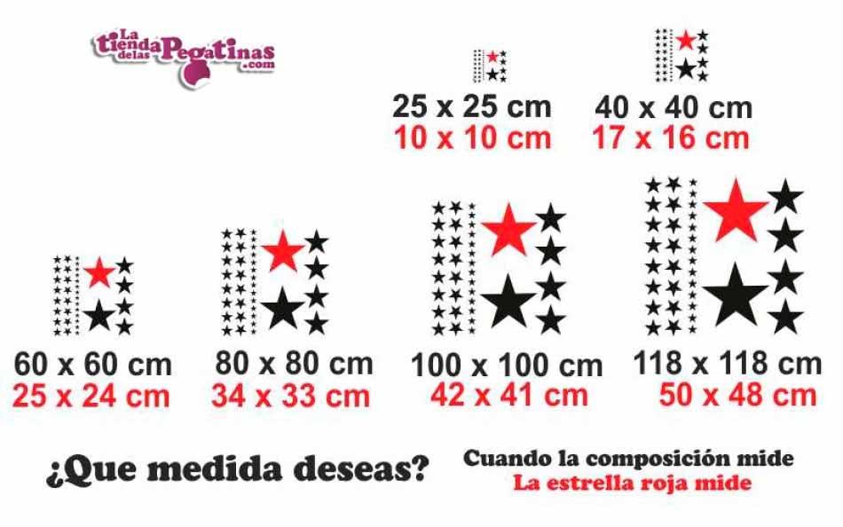 Vinilo infantil - Estrellas