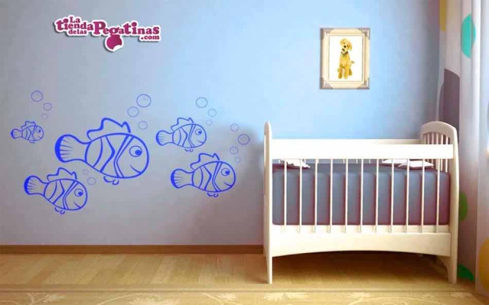 Vinilo infantil - Fondo Mediterraneo