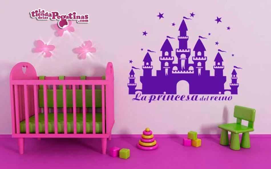 Vinilo infantil - El Castillo de la Princesa