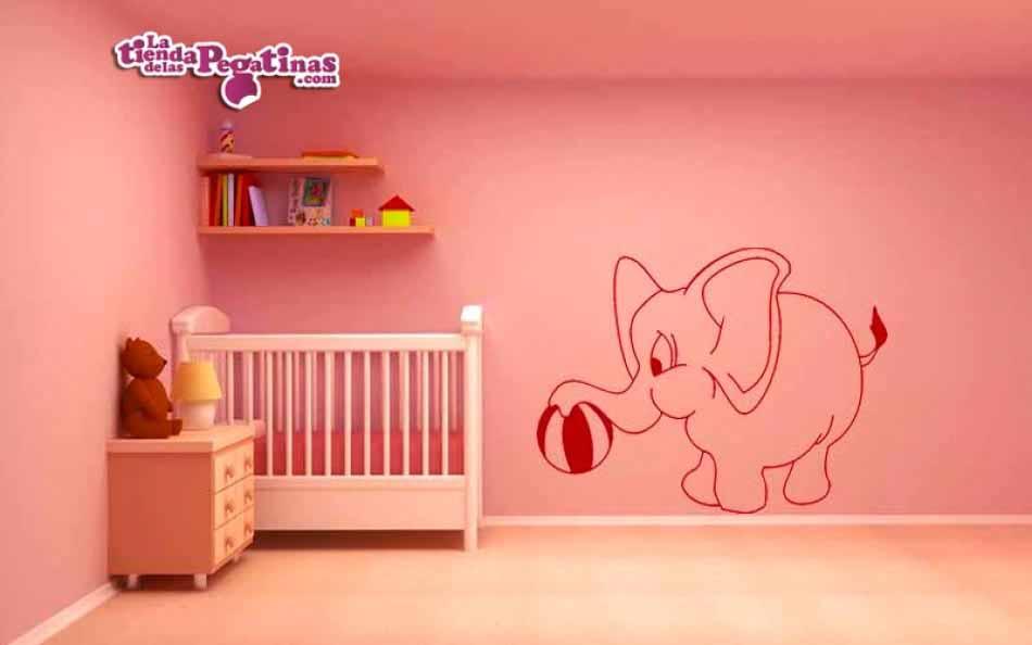 Vinilo infantil - Elefante Eliseo