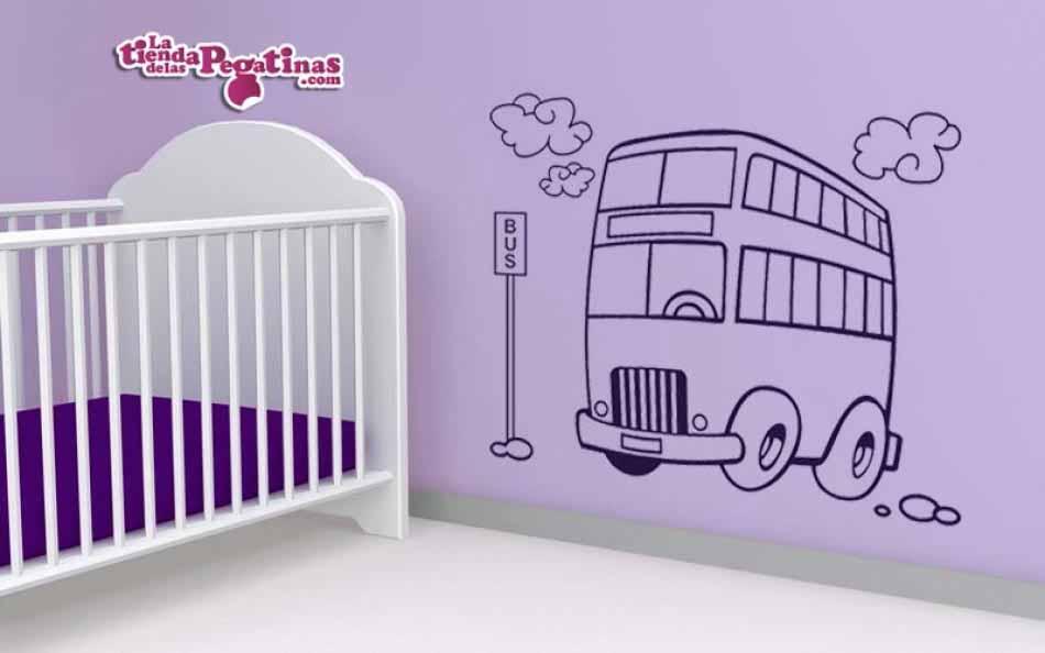 Vinilo infantil - Bus del Cole