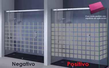 Vinilo - Cuadrados suaves - 117cm