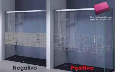 Vinilo - Cuadrados irregulares - 56cm