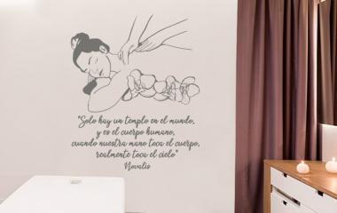 Vinilo Decorativo Tu Cuerpo es Tu Templo