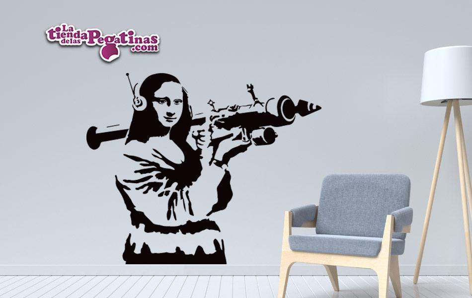 Vinilo Banksy Mona Lisa