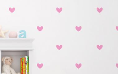 vinilo decorativo corazones