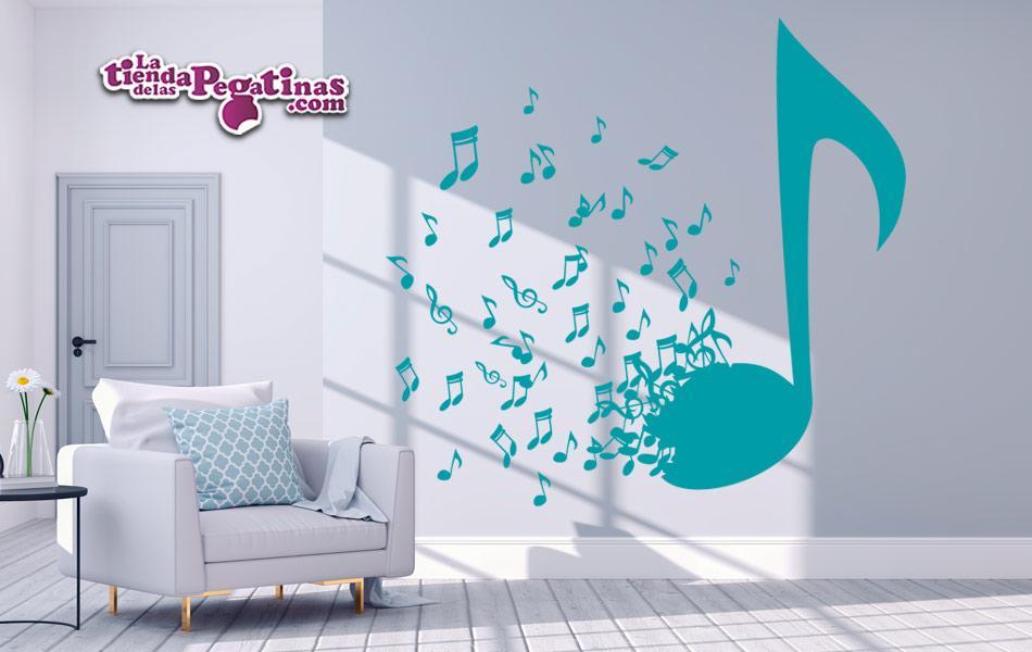 peganita para pared musica