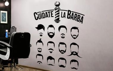 vinilo decorativo para barberos